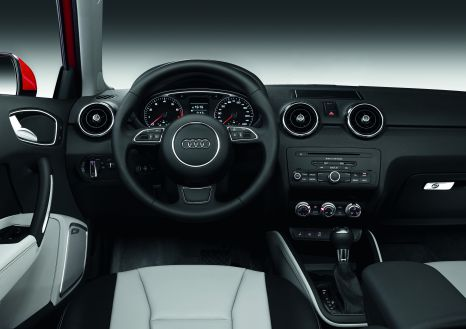 Exemplary ergonomics: the cockpit of the Audi A1