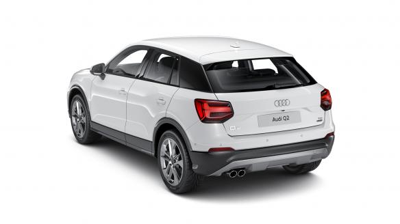 Audi Q2 design Ibisweiß