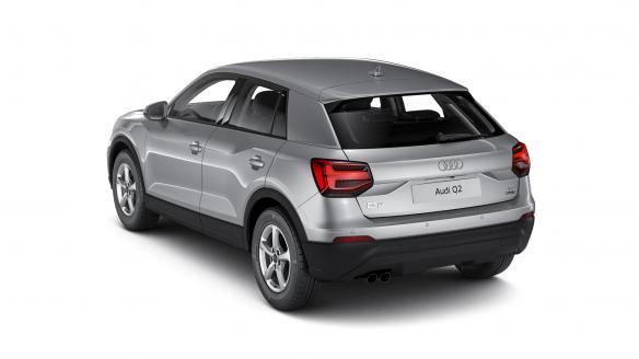 Audi Q2 Florettsilber Metallic