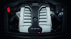 Souverän: Der W12 im Audi A8 L