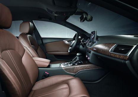 Leichtigkeit: Der Innenraum des Audi A7 Sportback