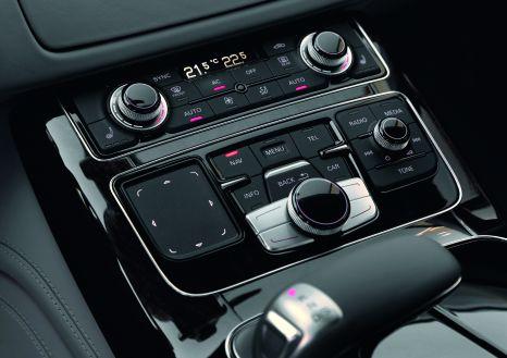 Eingabe mit dem Finger: Das MMI touch im Audi A8