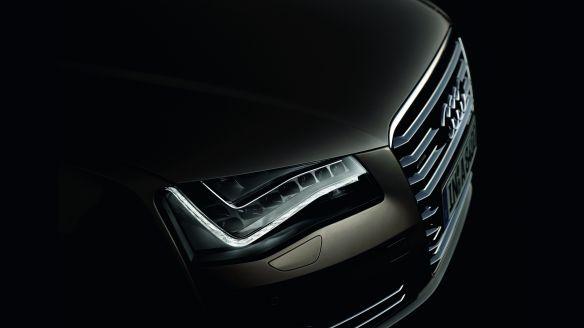 Elegant und markant: Das Tagfahrlicht des Audi A8