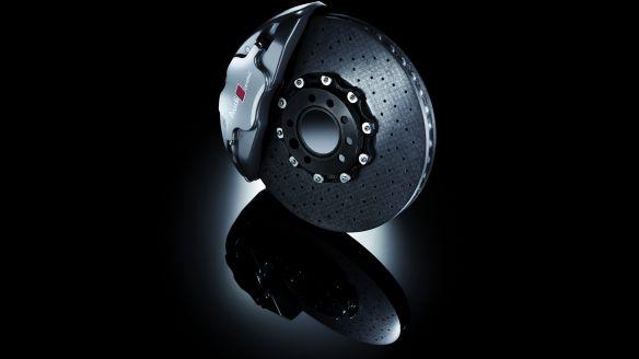 Kohlefaser-Keramik: Scheibenbremse beim Audi Q7 V12 TDI