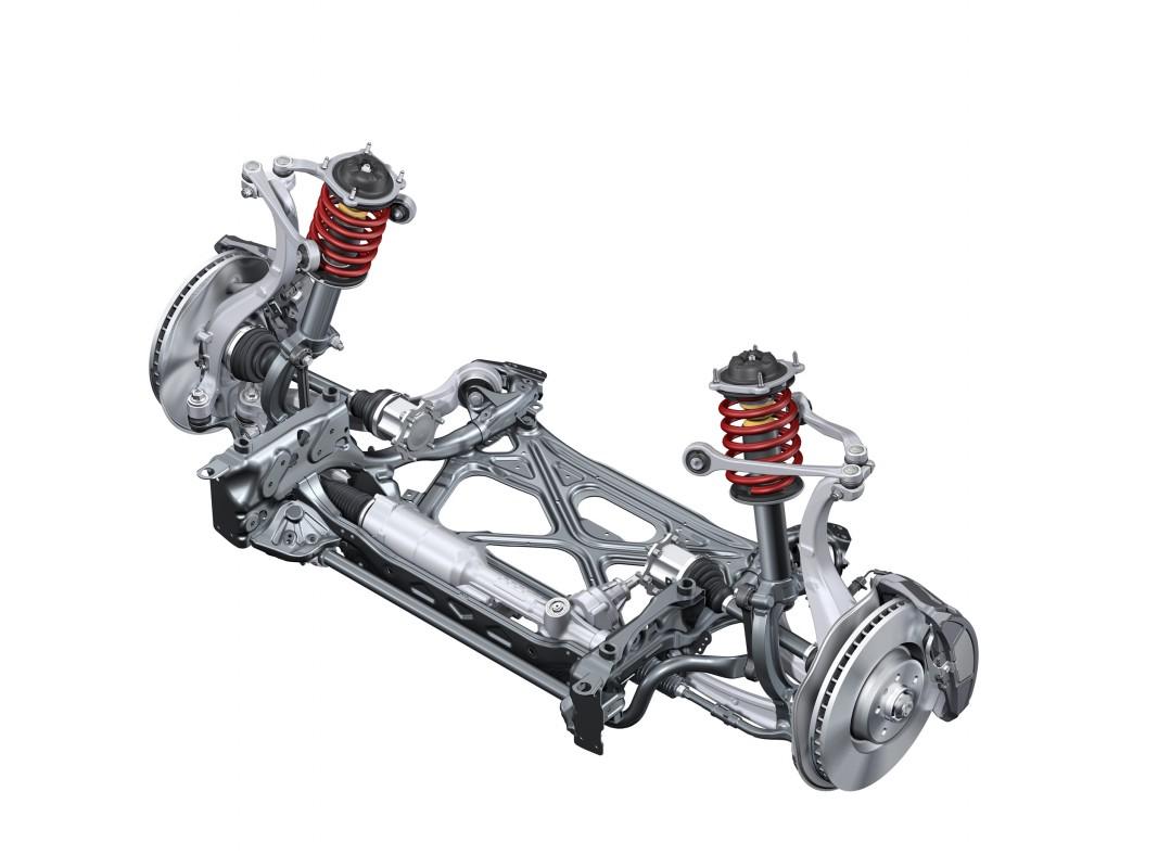 Vorderachse Audi Technology Portal