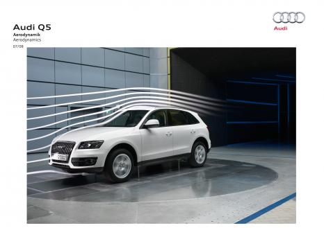 Audi Q5: Der sportliche SUV erzielt einen cw-Wert von 0,33