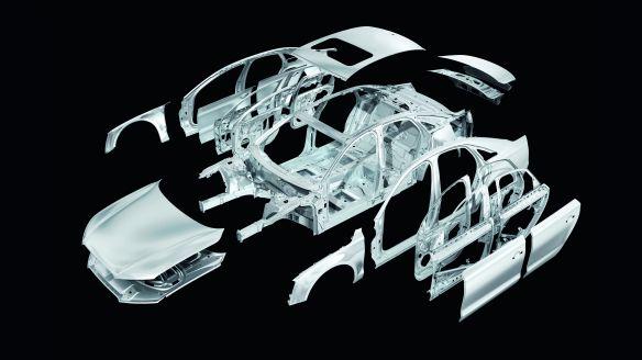 Audi A8: Karosseriegewicht 231 Kilogramm