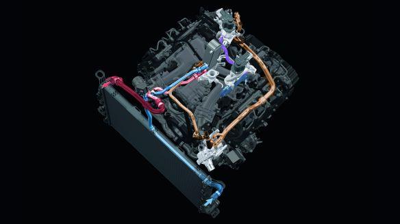 AGR beim 4.2 V8 TDI: Der Kühler erhält über einen eigenen Kreislauf kaltes Wasser