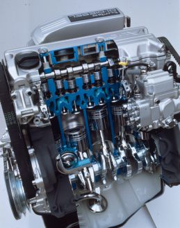 1989: Fünfzylinder-TDI als Technik-Pionier