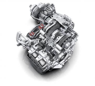 Ultrakompakt: Siebengang S tronic für quer eingebaute Motoren und quattro-Antrieb