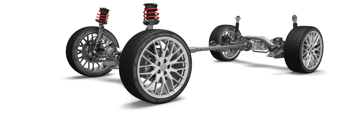 Fahrwerk Audi Technology Portal