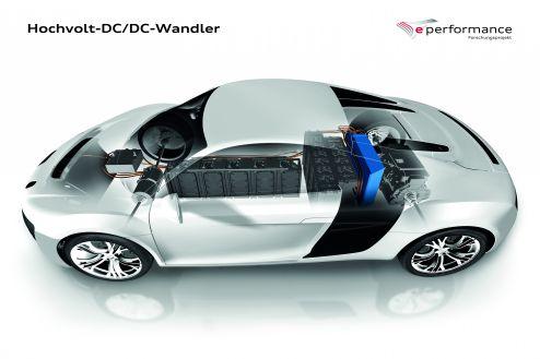 Forschungsprojekt e-perfomance: DC-Wandler