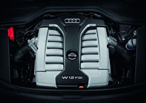 Superb: the W12 in the Audi A8 L