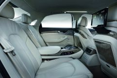 First class: Rear Seat Entertainment in the Audi A8