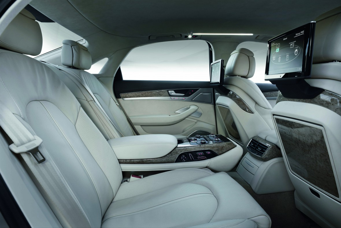 Reat Seat Entertainment Audi Technology Portal