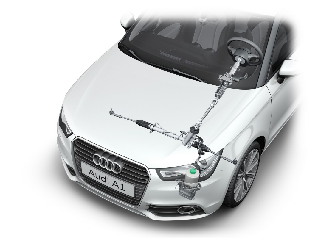 Used Audi A1 >> Power steering - Audi Technology Portal