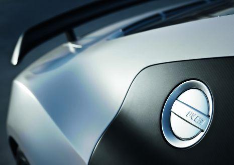 Audi R8 GT: CFRP sideblades