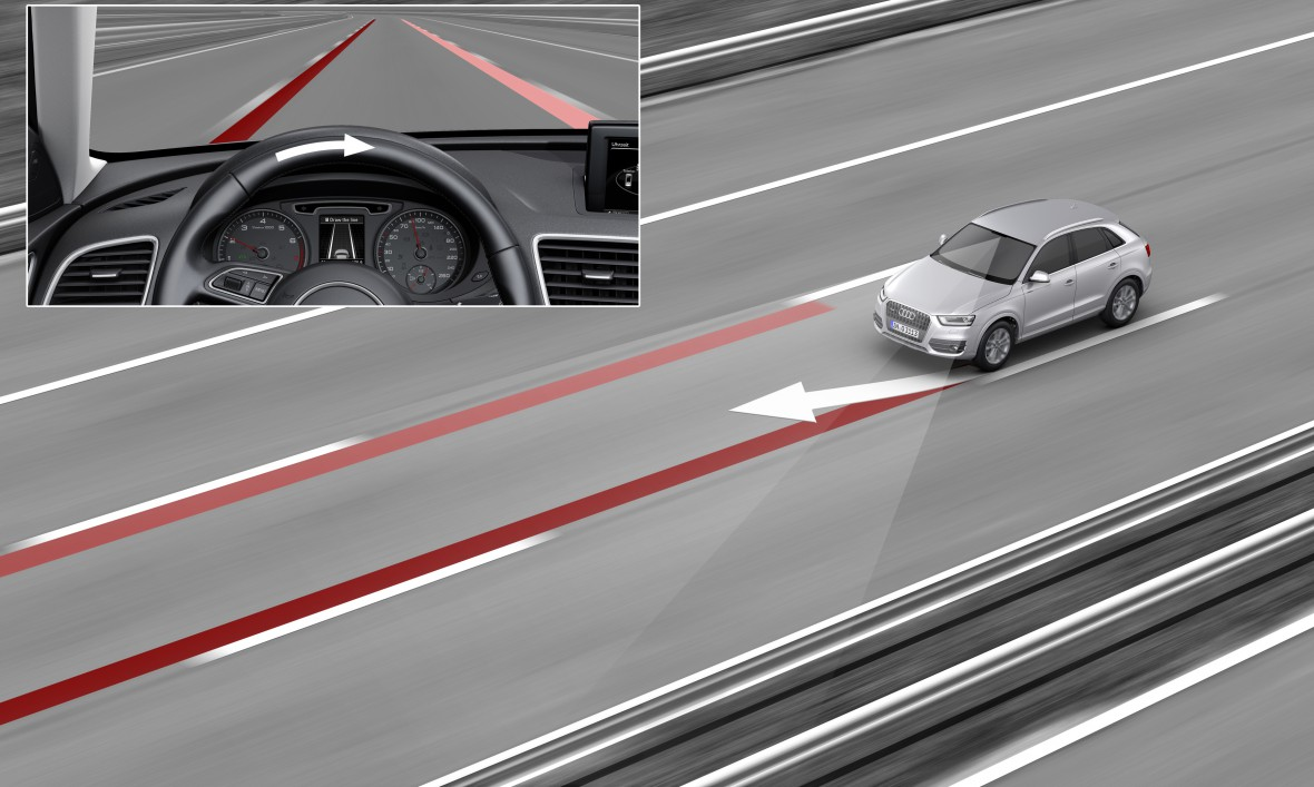 Audi active lane assist - Audi Technology Portal