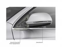 Feinschliff für minimale Geräusche: Die Außenspiegel des Audi Q3