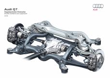 Hochbelastbar: Doppelquerlenker-Hinterachse im Audi Q7