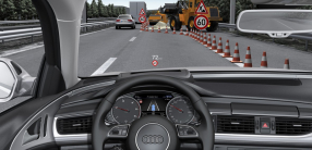Straightforward: the speed limit displays also appear in the optional head-up display