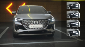 Audi Q4 e-tron Sportback – daytime running lights technology