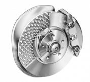 Innovative design: disk brake on the Audi A4