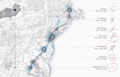 Boston Washington Population