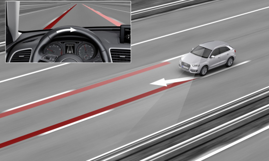 Helping the driver to stay in perfect control: Audi active lane assist