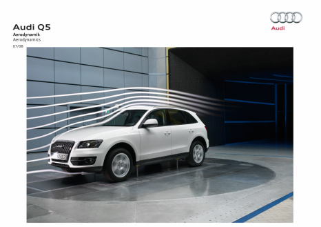 Audi Q5: The sporty SUV achieves a drag coefficient of 0.33