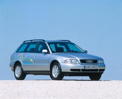 Plug-in hybrid: the 1997 Audi duo