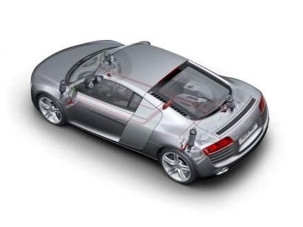 Audi R8: adaptive damping with Audi magnetic ride