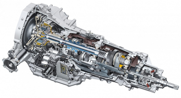 Linear architecture: seven-speed S tronic for longitudinally mounted engines