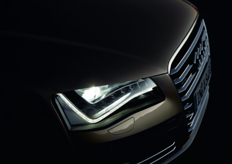 Systematically efficient: the LED headlights in the Audi A8