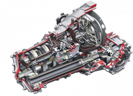 Front-wheel drive transmission