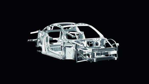Audi R8: Karosseriegewicht 210 Kilogramm