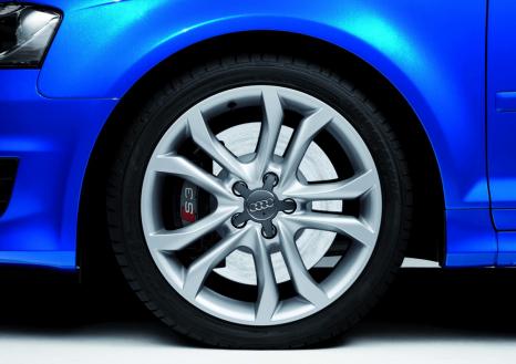 Audi A3: 18-Zoll-Rad im S-Design