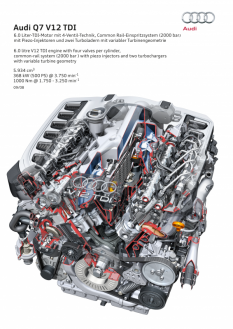 2007: Zwölfzylinder-TDI mit 368 kW (500 PS)