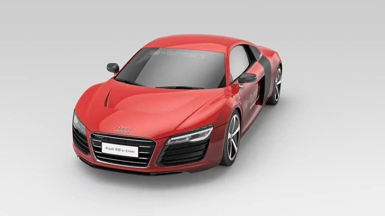 Audi R8 E Tron Audi Technology Portal