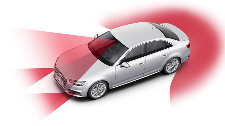 Audi A4 predictive efficiency assistant