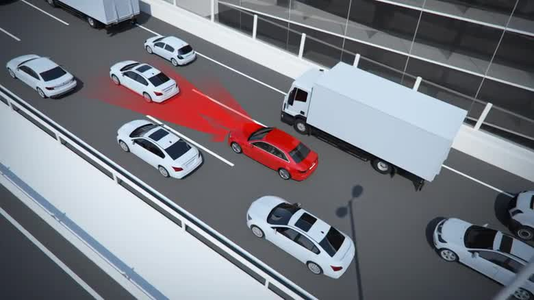 Audi A4 traffic jam assist