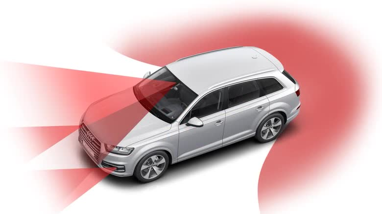 Audi Q7 predictive efficiency assistant