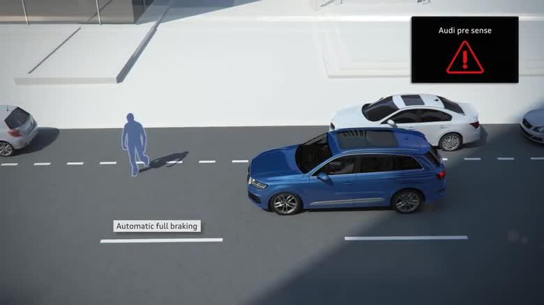 Audi Q7 Pre Sense City Audi Technology Portal