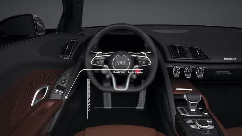 Audi R8 - Interior and Controls