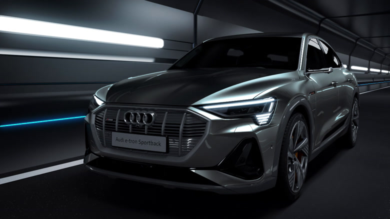 Audi e-tron Sportback - Laden- und Thermomanagement
