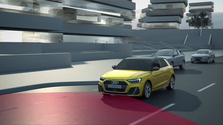 Audi A1 Sportback – Driver Assistance Systems