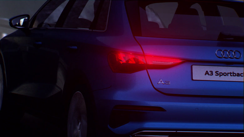 Audi A3 Sportback - Lighting technology