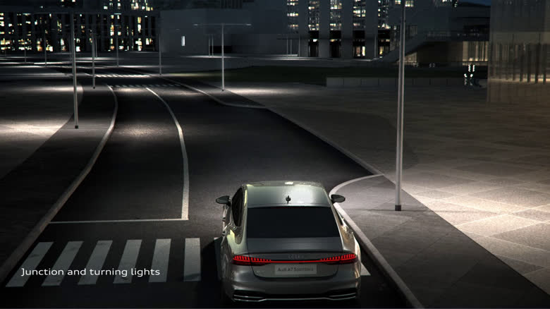 Audi A7 Sportback – Lighting Design