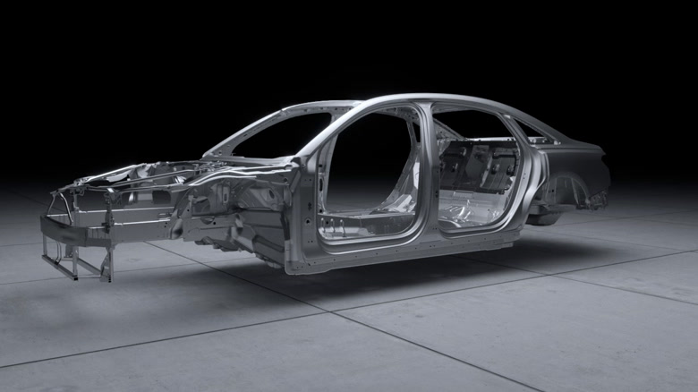 Audi A8 - Multimaterial Audi Space Frame