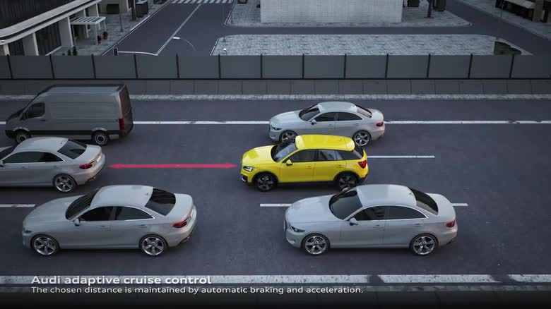 Audi Q2 traffic jam assist